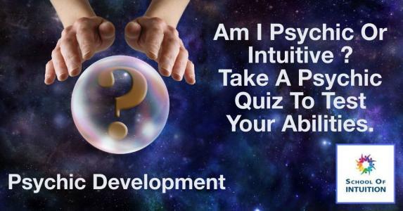 take a psychic quiz