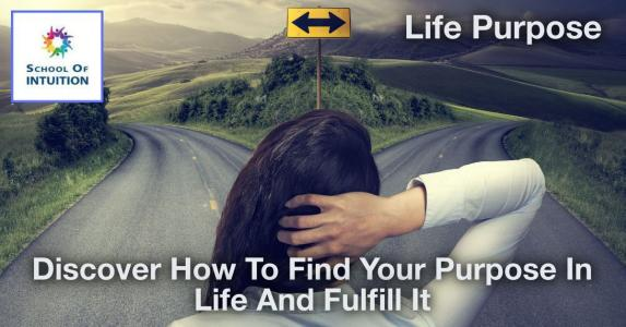 do you know how to find your purpose in life
