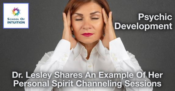 learn about channeling spirit