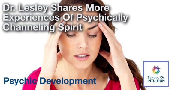 is channeling spirit possible for everyone