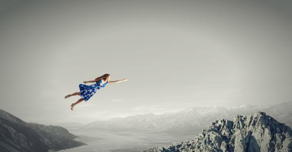 dream interpretation of falling or flying