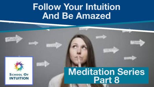 follow your intuition and be amazed what you can do