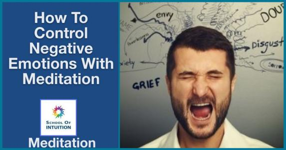 learn how to control your emotions