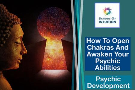 unlock the secret of how to open chakras and psychic abilities