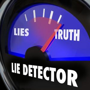 the easiest way to detect a lie