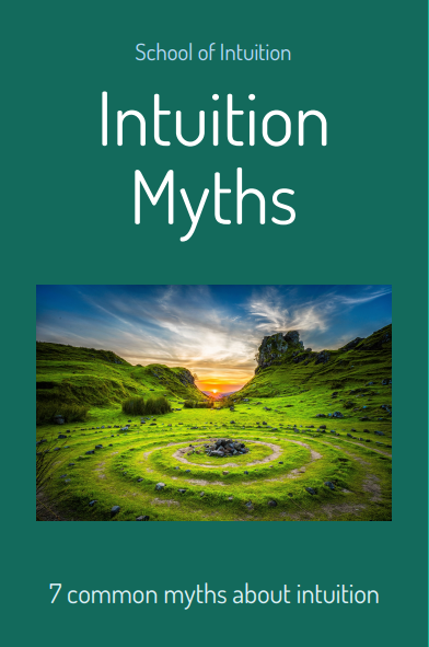 intuition Myths by Dr Lesley Phillips