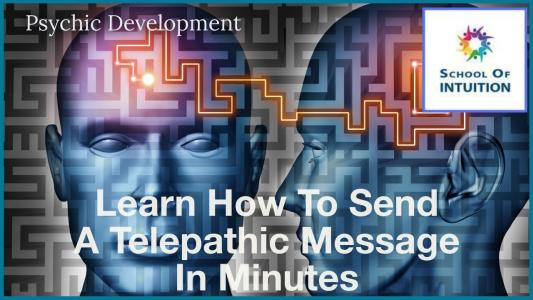how to send a telepathic message