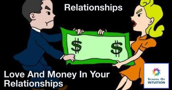 love and money go together in relationships