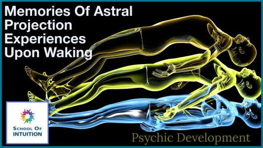how do you know you have had astral projection experiences