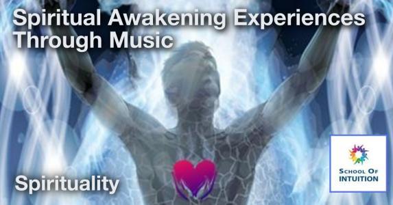 learn about spiritual awakening experiences through music