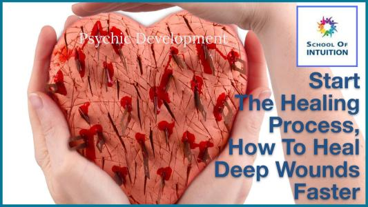 how to heal deep wounds faster