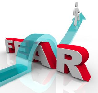 reduce the effects of fear using intuition