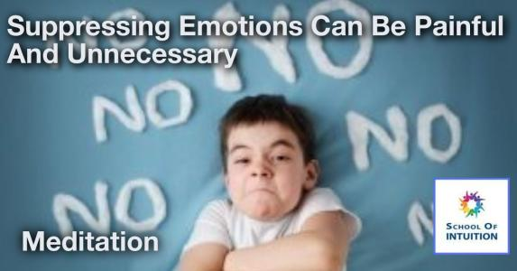 suppressing emotions can be harmful to your life