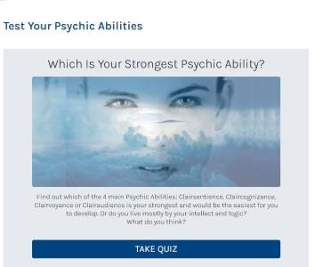 test your psychic abilities