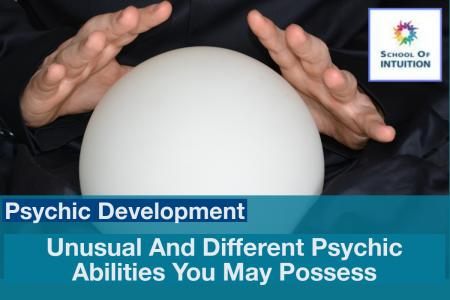unusual and different psychic abilities on the psychic powers list