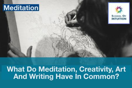 how are meditation, creativity, and arts connected