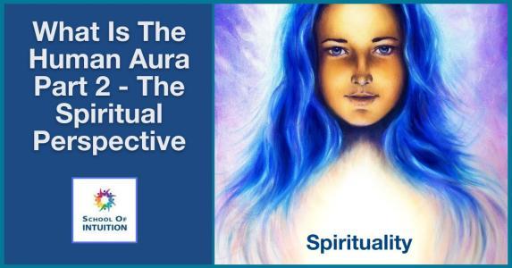 the human aura shines