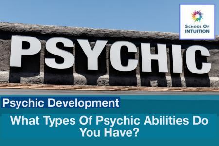 do you know the different types of psychic abilities