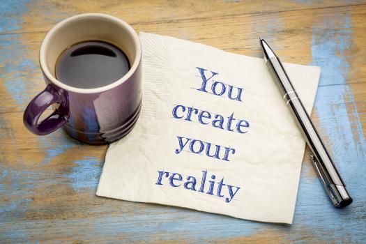 your mind creates your reality using the law of attraction