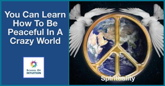 learn the art of how to be peaceful